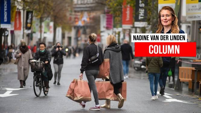 COLUMN. Wachtrijen voor de winkels? Ik word er blij van