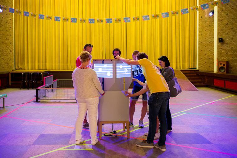 Het Medialab in het Feestpaleis.