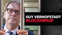 Brexit-voorstanders roepen op om Guy Verhofstadt op te sluiten