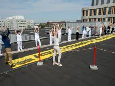 Ziekenhuispersoneel Amphia het dak op: 'Bedankt!'