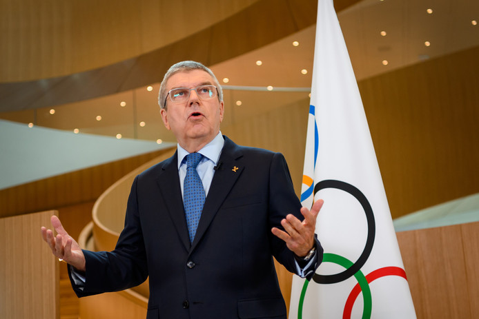 IOC-voorzitter Thomas Bach.