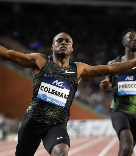 Amerikaanse sprinter Coleman in het nauw na missen dopingcontroles