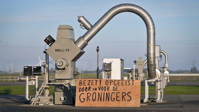 Bevolking in Groningen regelmatig in verzet.