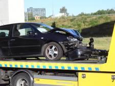 Verbindingsweg van A67 naar A2 tijdelijk dicht door ongeval bij De Hogt