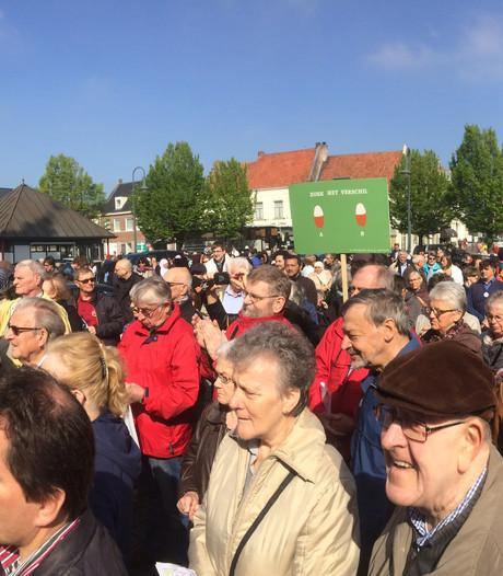 Belgen zingen voor goedkopere medicijnen in Hulst