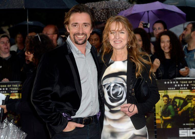 Richard Hammond en zijn vrouw Amanda Etheridge.