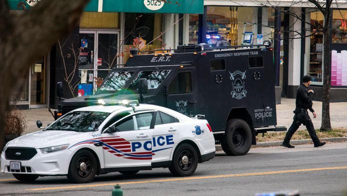Een speciale politie-eenheid moest ingezet worden om de schutter te overmeesteren