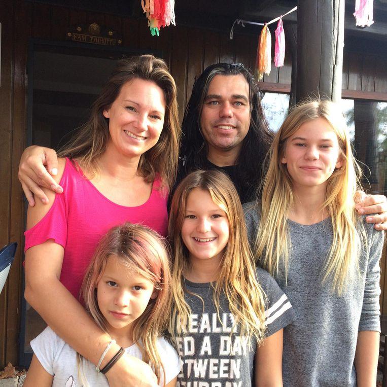 Dit gezin zet alles op de bitcoin. Beeld