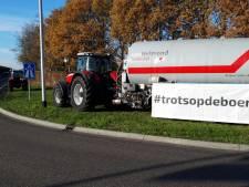 Boeren én bouwers voeren in heel Nederland actie bij opritten snelwegen