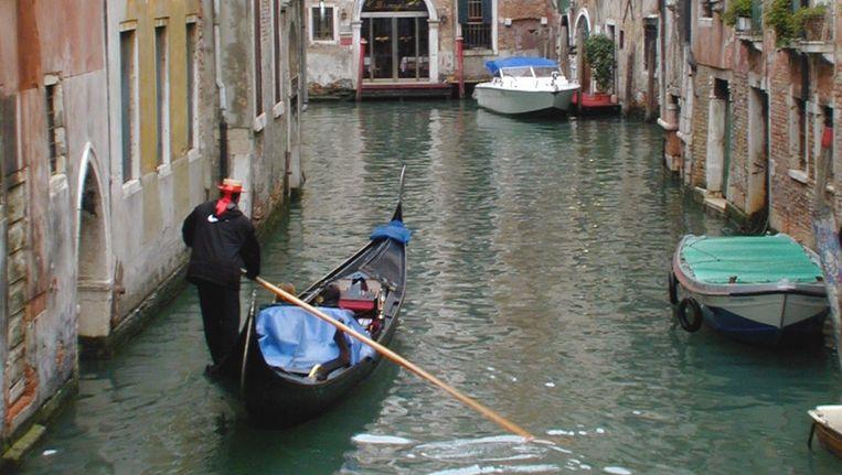 Een gondel in Venetië. Beeld ANP