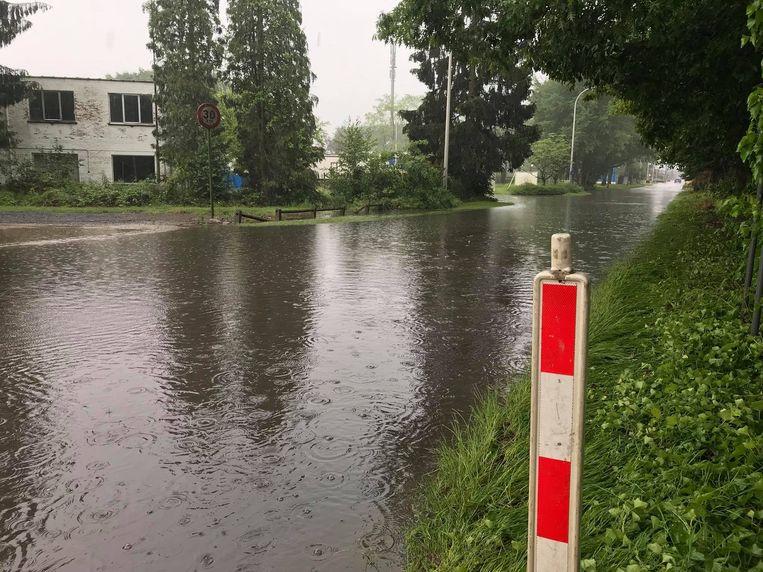 De Vaartstraat in Hulshout.