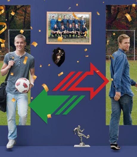 Overschrijvingen amateurvoetbal: grote drukte op de transfermarkt