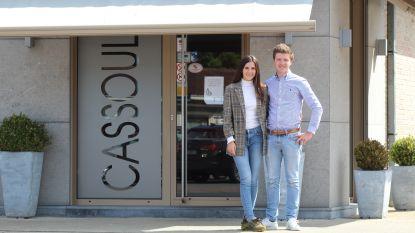 """Olivier en Jade (21) nemen bekende slagerij Cassoulet over: """"Sneller dan verwacht"""""""