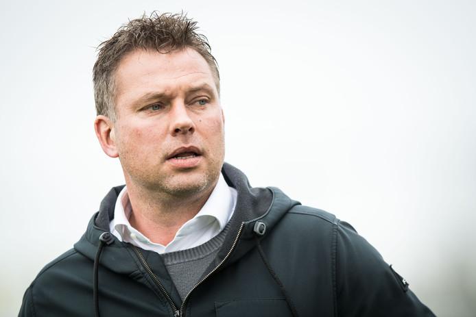 FC Lienden-trainer Hans van de Haar.