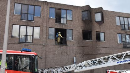 Uitslaande brand boven Blokker