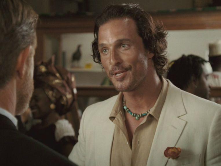 Matthew McConaughey in 'Sahara'