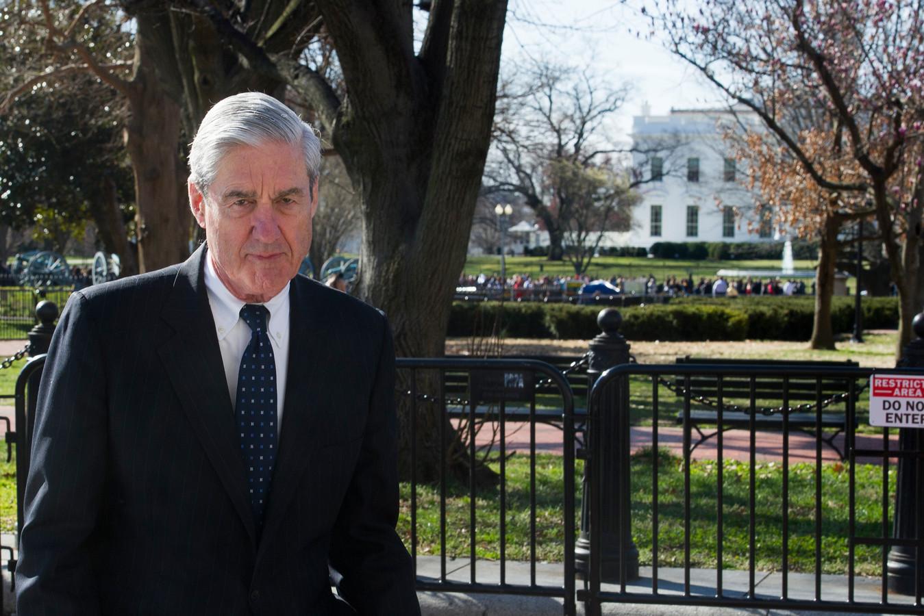Speciaal onderzoeker Robert Mueller.