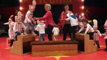 Kinderen VBS Ertvelde schitteren in piste circus Picolini