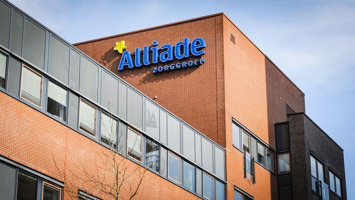 Exterieur van hoofdkantoor Alliade Zorggroep.