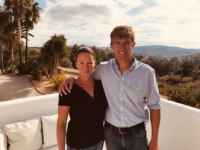 Annelies Biard en Christophe Philippart uit Lokeren baten b&b Abeniss uit in het Spaanse Benissa.