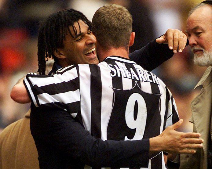 Ruud Gullit en Alan Shearer.
