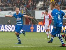 PEC Zwolle nog niet de oude maar wint wel in Emmen
