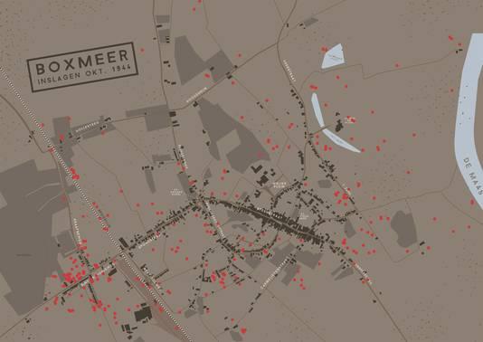 Granaatinslagen in Boxmeer oktober 1944