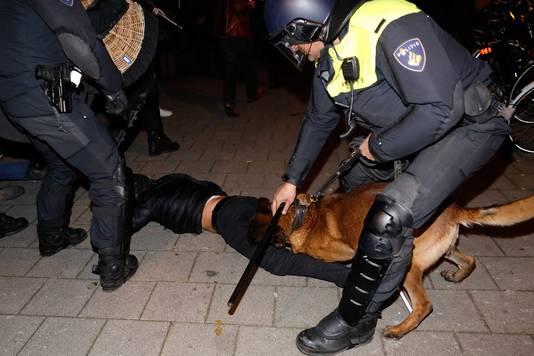 Rellen na demonstratie bij Turks consulaat