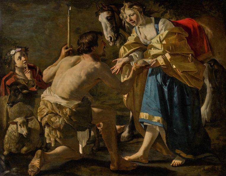 Granida en Daifilo van Dirck van Babuuren. Beeld Collectie J.E. Safra