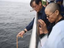 Weduwe Chinese dissident Liu Xiaobo duikt na anderhalve maand op in video