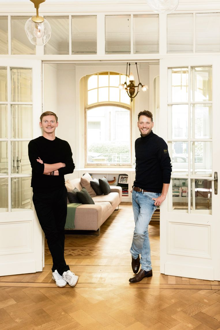 Steve en Orry zijn te zien in het Eén-programma 'Het Gezin'.