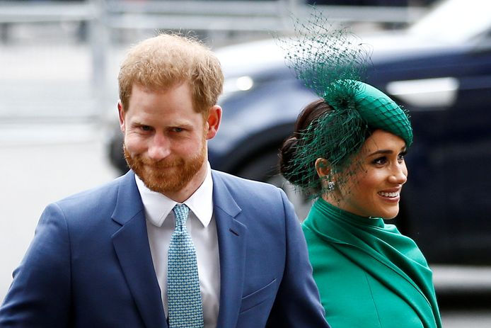 Prins Harry en Meghan