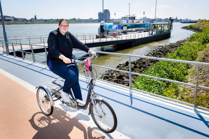 Sissi van Dorst gaat nog maar weinig met de Waterbus, uit vrees geweigerd te worden.