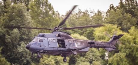 Luchtmacht speelt bij Arnhem 'verstoppertje' met helikopters na zonsondergang