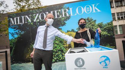 Mooimakers rolt blauwe loper uit in Genk en gaat strijd aan tegen zwerfvuil