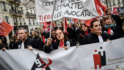 Franse bonden willen dinsdag massaal protest tegen pensioenplan