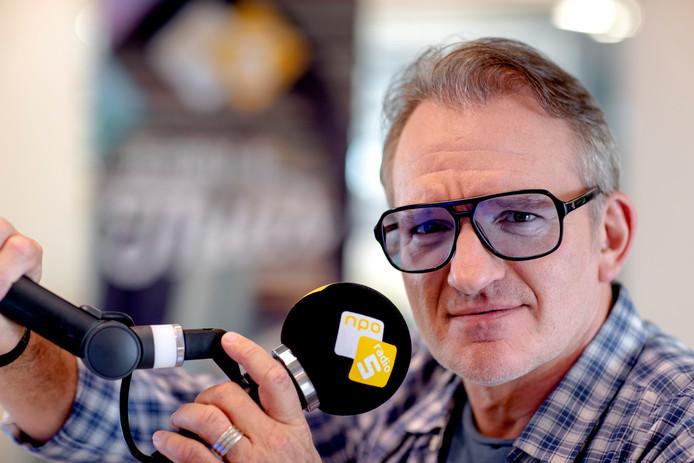 Portret van Jeroen van Inkel, dj van NPO Radio 5.