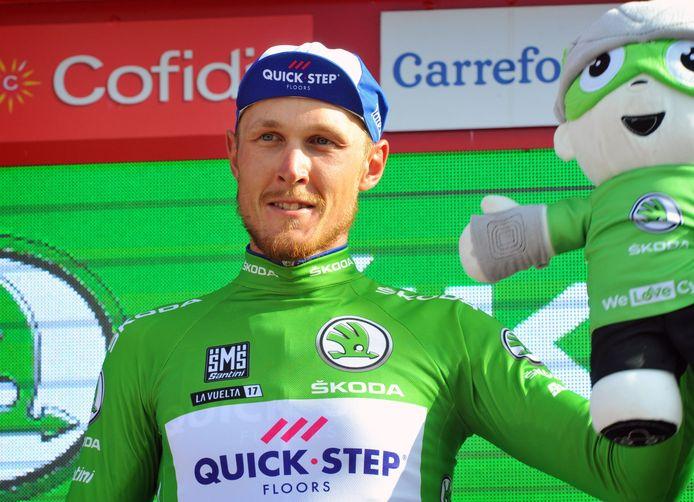 Maar de groene puntentrui leverde hem dat op het einde van de rit toch niet op.