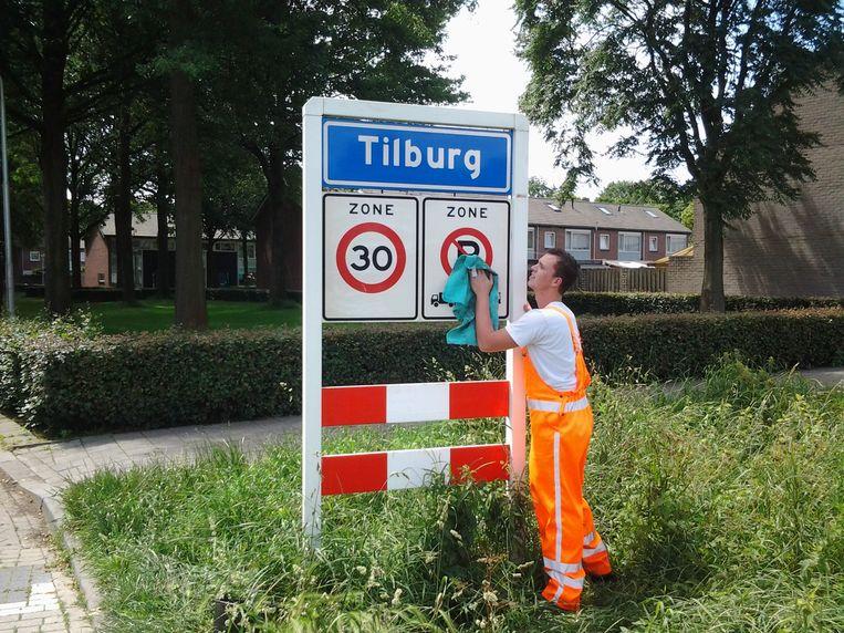 Widłaś woont nu in een rijtjeswoning in Tilburg. Beeld