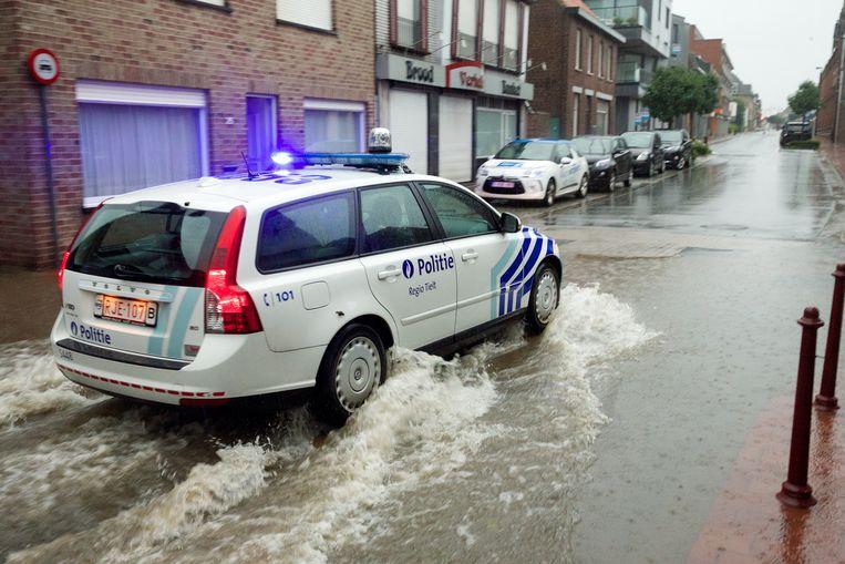 De laatste grote overstroming in Lichtervelde dateert van 28 juli 2014. Met de implementatie van een hemelwaterplan moeten dergelijke taferelen tot het verleden behoren.