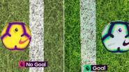 Een kwestie van centimeters: goal van Sergio Agüero brengt Man City stap dichter bij titel