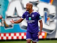 Débuts difficiles pour Kompany à Anderlecht