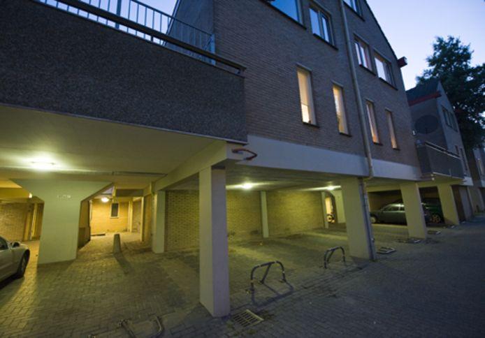 Tattersall laat op de avond: ideale schuilplaats voor junks en alcoholisten. foto Wouter Borre