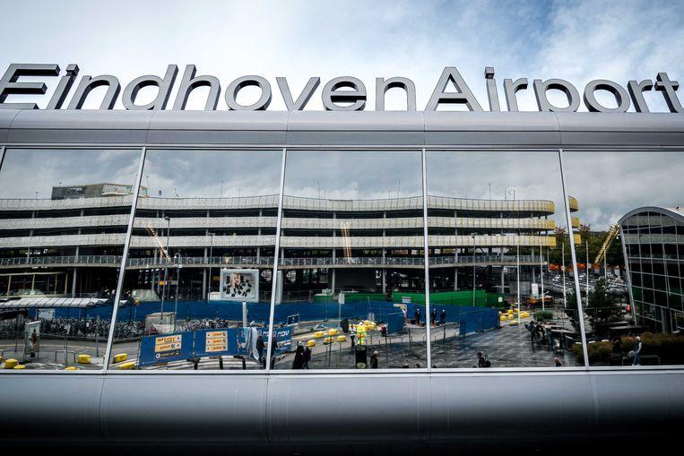 De luchthaven van Eindhoven