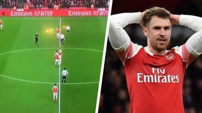 """Arsenal te kijk gezet na """"slechtste aftrap ooit"""""""