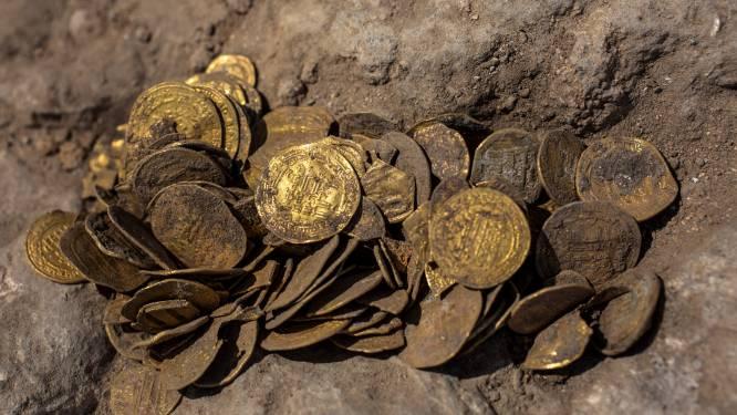 Tieners vinden duizend jaar oude pot met goud in Israël