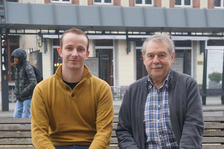 Bart Voordeckers en Pierre Gladiné.