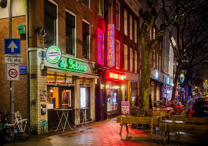 Horeca in de Rotterdamse Witte de Withstraat.