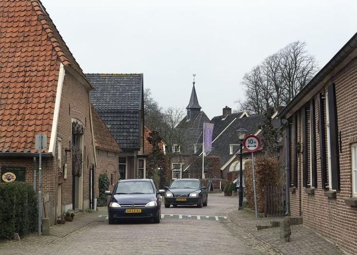 Het stadje Bronckhorst.