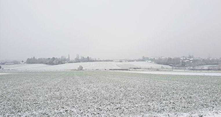 Sneeuwlandschap vanaf Fort
